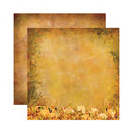 Reminisce - Harvest Collection - 12 x 12 Double Sided Paper - Bountiful