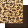 Reminisce - Harvest 2014 Collection - 12 x 12 Double Sided Paper - Bountiful Harvest