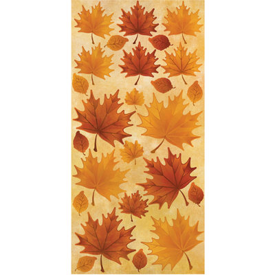Reminisce - Harvest Collection - Cardstock Stickers - Leaf