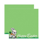 Reminisce - Happy Easter Collection - 12 x 12 Double Sided Paper - Happy Easter