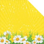 Reminisce - Happy Easter Collection - 12 x 12 Double Sided Paper - Spring Flowers