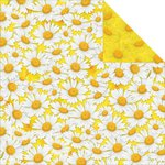 Reminisce - Happy Easter Collection - 12 x 12 Double Sided Paper - Spring Daisies