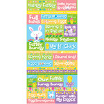 Reminisce - Happy Easter Collection - Die Cut Cardstock Stickers - Quote