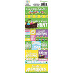 Reminisce - Happy Easter Collection - Cardstock Stickers - Combo