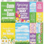 Reminisce - Happy Easter Collection - 12 x 12 Cardstock Stickers - Poster