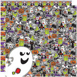 Reminisce - Halloween Party Collection - 12 x 12 Double Sided Paper - Halloween Party
