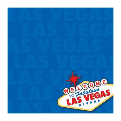 Reminisce - It's Vegas Baby Collection - Patterned Paper - Welcome to Vegas