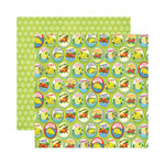 Reminisce - Labels Classique Collection - 12 x 12 Double Sided Paper - Citron