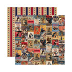Reminisce - Let Freedom Ring Collection - 12 x 12 Double Sided Paper - We Can Do It