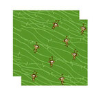 Reminisce - Monkey Business Collection - 12 x 12 Double Sided Paper - Hangin' Around