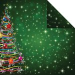 Reminisce - Magical Christmas Collection - 12 x 12 Double Sided Paper - Christmas Tree Magic