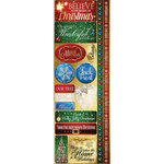 Reminisce - Magical Christmas Collection - Cardstock Stickers - Combo