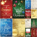 Reminisce - Magical Christmas Collection - 12 x 12 Cardstock Stickers - Poster