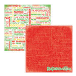 Reminisce - Making the Grade Collection - 12 x 12 Double Sided Paper - Kindergarten