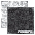 Reminisce - Making the Grade Collection - 12 x 12 Double Sided Paper - Junior