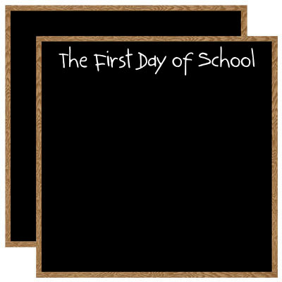 Reminisce - Making the Grade Collection - 12 x 12 Double Sided Paper - First Day of School