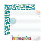 Reminisce - Making the Grade Collection - 12 x 12 Double Sided Paper - Fifth Grade 2