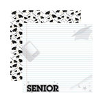 Reminisce - Making the Grade Collection - 12 x 12 Double Sided Paper - Senior 2