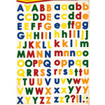 Reminisce - Making the Grade Collection - Die Cut Cardstock Stickers - Elementary Alphabet