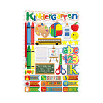 Reminisce - Making the Grade Collection - 3 Dimensional Die Cut Stickers - Kindergarten 2