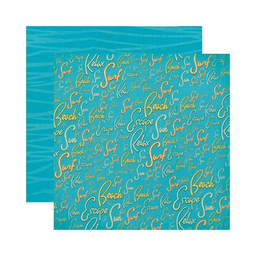 Reminisce - Paradise Collection - 12 x 12 Double Sided Paper - Paradise Handbook