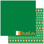Reminisce - Passports Collection - 12 x 12 Double Sided Paper - Dublin