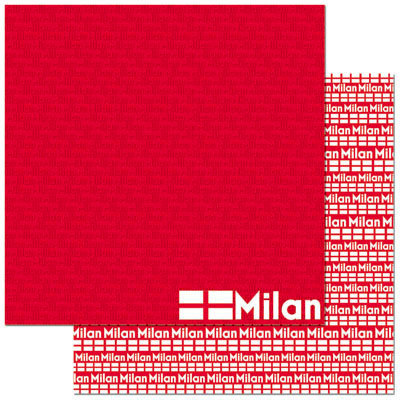 Reminisce - Passports Collection - 12 x 12 Double Sided Paper - Milan