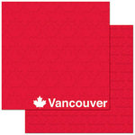 Reminisce - Passports Collection - 12 x 12 Double Sided Paper - Vancouver