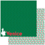 Reminisce - Passports Collection - 12 x 12 Double Sided Paper - Venice