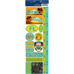 Reminisce - Passports Collection - Cardstock Stickers - Florida
