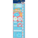 Reminisce - Passports Collection - Cardstock Stickers - Maui