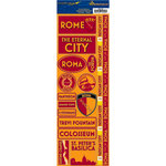 Reminisce - Passports Collection - Cardstock Stickers - Rome