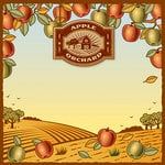 Reminisce - 12 x 12 Paper - Apple Orchard 2