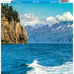 Reminisce - Customs Collection - 12 x 12 Single Sided Paper - Cruise Alaska