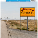 Reminisce - Customs Collection - 12 x 12 Single Sided Paper - Welcome to New Mexico