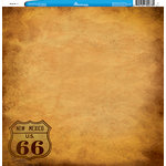 Reminisce - Customs Collection - 12 x 12 Single Sided Paper - Route 66 3