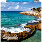 Reminisce - Customs Collection - 12 x 12 Single Sided Paper - Cozumel Mexico