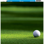 Reminisce - Customs Collection - 12 x 12 Single Sided Paper - Golf Grass