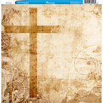 Reminisce - Customs Collection - 12 x 12 Single Sided Paper - Faith in Jesus