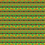 Reminisce - Fiesta Collection - 12 x 12 Double Sided Paper - Fiesta Stripe