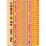 Reminisce - BBQ Collection - Die Cut Cardstock Stickers - Backyard Bash - Border Strip