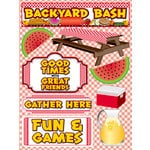 Reminisce - BBQ Collection - 3 Dimensional Die Cut Stickers - Backyard Bash 1