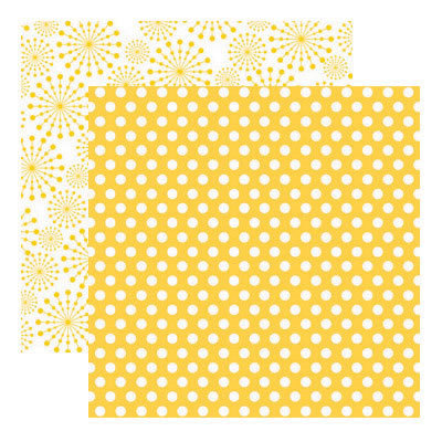Reminisce - Real Magic Collection - 12 x 12 Double Sided Paper - Cute Dots