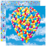 Reminisce - Real Magic Collection - Disney - 12 x 12 Double Sided Paper - Magical Bouquet