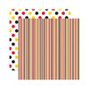 Reminisce - Real Magic Collection - 12 x 12 Double Sided Paper - Dream Stripe