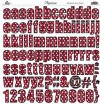 Reminisce - Real Magic - Disney - 12x12 Sticker - Alphabet