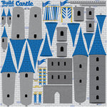 Reminisce - Real Magic Collection - Disney - 12 x 12 Cardstock Stickers - Build Your Own Castle Icon