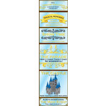 Reminisce - Real Magic Collection - Disney - Chipboard Stickers - Sign
