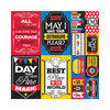 Reminisce - Real Magic Collection - 12 x 12 Cardstock Stickers - Poster
