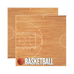 Reminisce - Real Sports Collection - 12 x 12 Double Sided Paper - Basketball